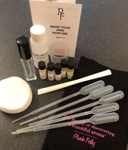 Bespoke Perfume Making Kit Plush Folly