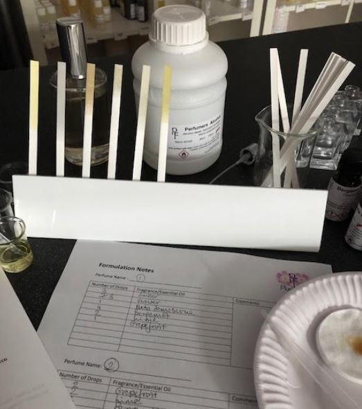 Perfume Tester Display: Perfume Tester Strip HOLDER